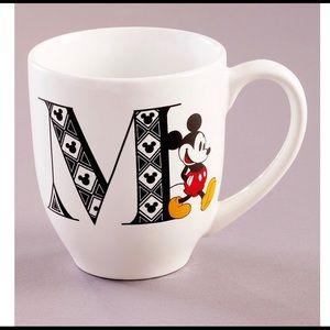 Disney Mickey Mouse Monogram M Mug
